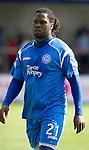St Johnstone FC.... Season 2010-11.Collin Samuel.Picture by Graeme Hart..Copyright Perthshire Picture Agency.Tel: 01738 623350  Mobile: 07990 594431