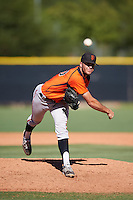 San Francisco Giants pitcher John Timmins (40) during an Instructional League game against the Los Angeles Angels of Anaheim on October 13, 2016 at the Tempe Diablo Stadium Complex in Tempe, Arizona.  (Mike Janes/Four Seam Images)