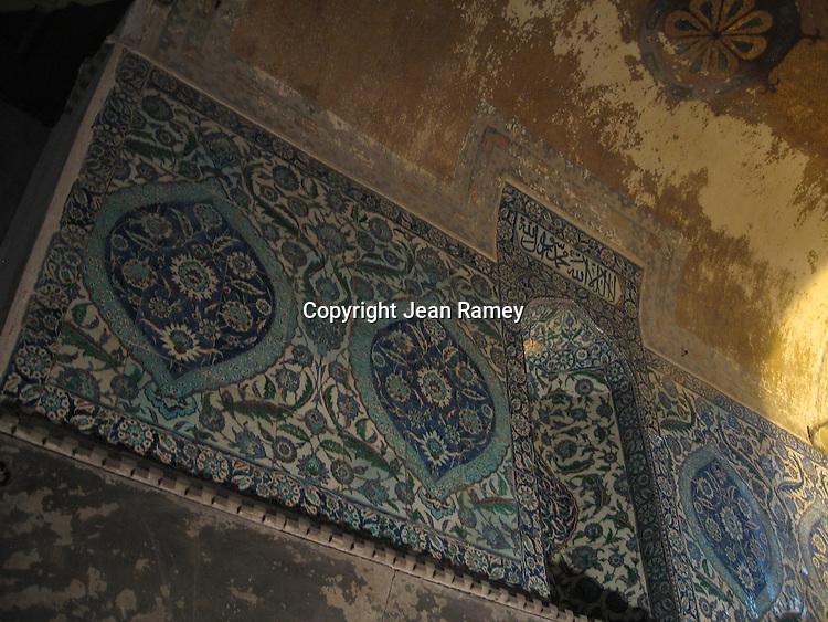 Mosaic, Aya Sofia - Istanbul, Turkey