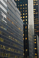 AVAILABLE FROM PLAINPICTURE FOR COMMERCIAL AND EDITORIAL LICENSING.  Please go to www.plainpicture.com and search for image # p5690075.<br /> <br /> Office Buildings in Midtown Manhattan, New York City, New York State, USA