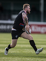 Ben Evans during the Kingstone Press Championship match between London Broncos and Rochdale Hornets at Castle Bar , West Ealing , England  on 26 March 2017. Photo by Steve Ball / PRiME Media Images.