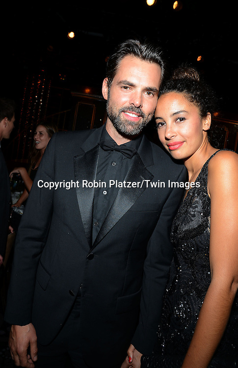 Jason Thompson  and Paloma Jonas attends the 41st Annual Daytime Emmy Awards after party  on June 22, 2014 at the Beverly Hilton Hotel in Beverly Hills,California.<br /> <br /> photo by Robin Platzer/ Twin Images<br /> <br /> 212-935-0770