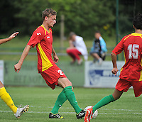 Sporting Menen - KV Oostende : Gertjan Martens<br /> foto VDB / Bart Vandenbroucke