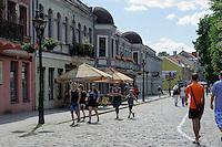 Auf der Vilniaus Gatve in Kaunas, Litauen, Europa