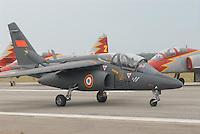 - French  Air Force (Armée de l'Air), Alpha Jet light-attack and advanced trainer aircraft....- Aeronautica militare francese (Armée de l'Air), aereo da addestramento avanzato e da attacco leggero Alpha Jet