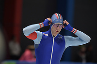 SPEEDSKATING: 07-12-2018, Tomaszów Mazowiecki (POL), ISU World Cup Arena Lodowa, 500m Men Division B, Johann Jørgen Sæves (NOR), ©photo Martin de Jong
