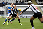 St Mirren v St Johnstone…29.08.21  SMiSA Stadium    SPFL<br />Curtis Main is challenged by Hayden Muller<br />Picture by Graeme Hart.<br />Copyright Perthshire Picture Agency<br />Tel: 01738 623350  Mobile: 07990 594431