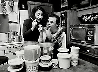 1980 FILE PHOTO - ARCHIVES -<br /> <br /> I adore cooking for Moses, says actress Marilyn Lightstone, who has lived for 20 years with Moses Znaimer, president of CITY-TV. When she has to go away she makes soup and freezes it in handy containers for him.<br /> Bezant, Graham<br /> Picture, 1980, <br /> <br /> 1980<br /> <br /> PHOTO : Graham Bezant - Toronto Star Archives - AQP
