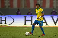 13th October 2020; National Stadium of Peru, Lima, Peru; FIFA World Cup 2022 qualifying; Peru versus Brazil;  Thiago Silva of Brazil