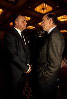 FILE - Ray Hnatyshin, Gouverneur-General du canada et Marc Lalonde , dans les annes 90