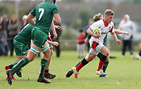 Saturday 8th September 2018 | Ulster U19s vs Connacht U19s<br /> <br /> Thomas Armstrong during the U19 Inter-Pro between Ulster and Connacht at Bangor Grammar School, Bangor, County Down, Northern Ireland. Photo by John Dickson / DICKSONDIGITAL