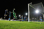 action from the Drogheda United V Longford Town match in united park, Drogheda<br /> Picture Fran Caffrey   Newsfile.ie