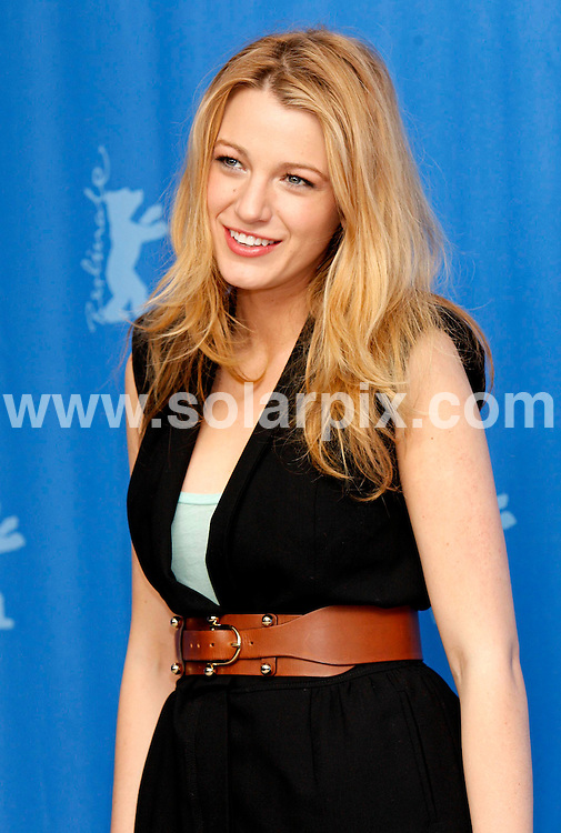 **ALL ROUND PICTURES FROM SOLARPIX.COM**.**SYNDICATION RIGHTS FOR UK AND SPAIN ONLY**.The photocall of 'The Private Lives Of Pippa Lee' at Berlinale, the 59th Berlin Film Festival. Berlin, Germany. 9 February 2009 ..This pic: Blake Lively..JOB REF: 8437 CPR (Heinz) DATE: 09_02_2009.**MUST CREDIT SOLARPIX.COM OR DOUBLE FEE WILL BE CHARGED**.**ONLINE USAGE FEE  GBP 50.00 PER PICTURE - NOTIFICATION OF USAGE TO PHOTO @ SOLARPIX.COM**