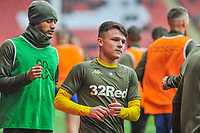 Leeds United's midfielder Jamie Shackleton (46) during the Sky Bet Championship match between Sheff United and Leeds United at Bramall Lane, Sheffield, England on 1 December 2018. Photo by Stephen Buckley / PRiME Media Images.