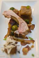 Europe/France/Midi-Pyrénées/81/Tarn/ Cahuzac sur Vère: Cochon de lait de la tête au pieds, recette de Guillaume Salvan du restaurant: La Falaise,