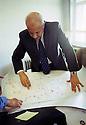 Irak 2002.Kerim Sinjari, ministre de l'Interieur.Iraq 2002.Kerim Sinjari, Home office minister