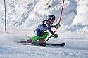 10/01/2018 under 16 girls slalom run 1