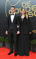 20180207 – BRUSSELS ,  BELGIUM : Aleksander Boljevic (L) pictured during the  64nd men edition of the Golden Shoe award ceremony and 2nd Women's edition, Wednesday 7 February 2018, in Brussels Heyzel Palace 12. The Golden Shoe (Gouden Schoen / Soulier d'Or) is an award for the best soccer player of the Belgian Jupiler Pro League championship during the year 2017. The female edition is the second in Belgium.  PHOTO DIRK VUYLSTEKE | Sportpix.be