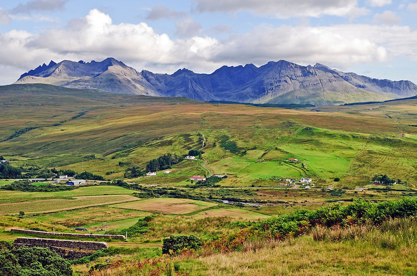 Landscape with Cuillin Hills, Isle of Skye