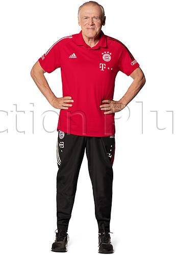 26th October 2020, Munich, Germany; Bayern Munich official seasons portraits for season 2020-21;  Co-Trainer Hermann Gerland