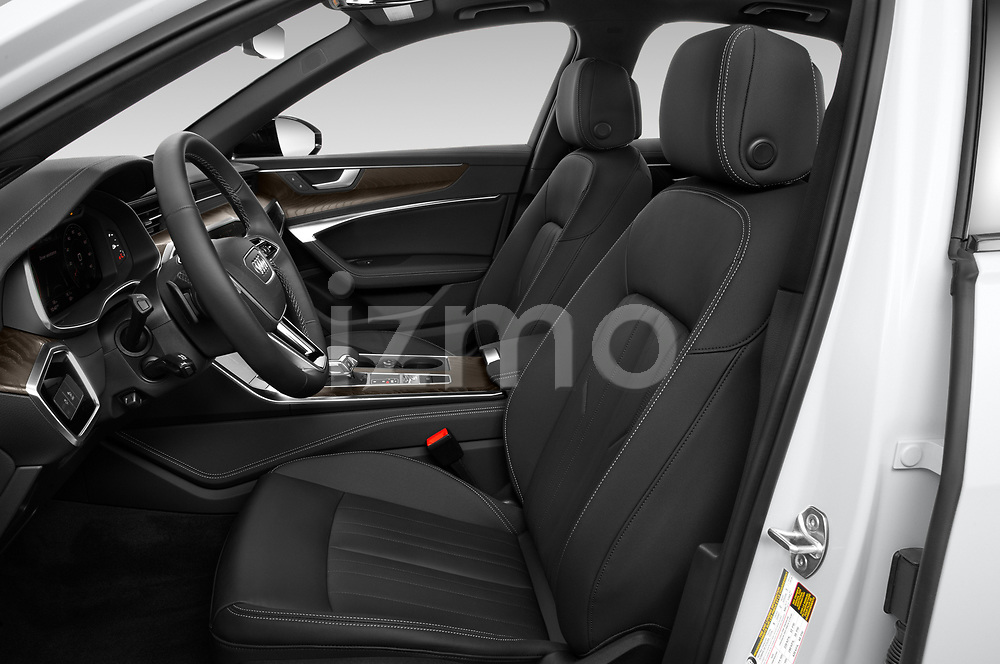 Front seat view of a 2021 Audi A6 Sedan Premium Plus 4 Door Sedan