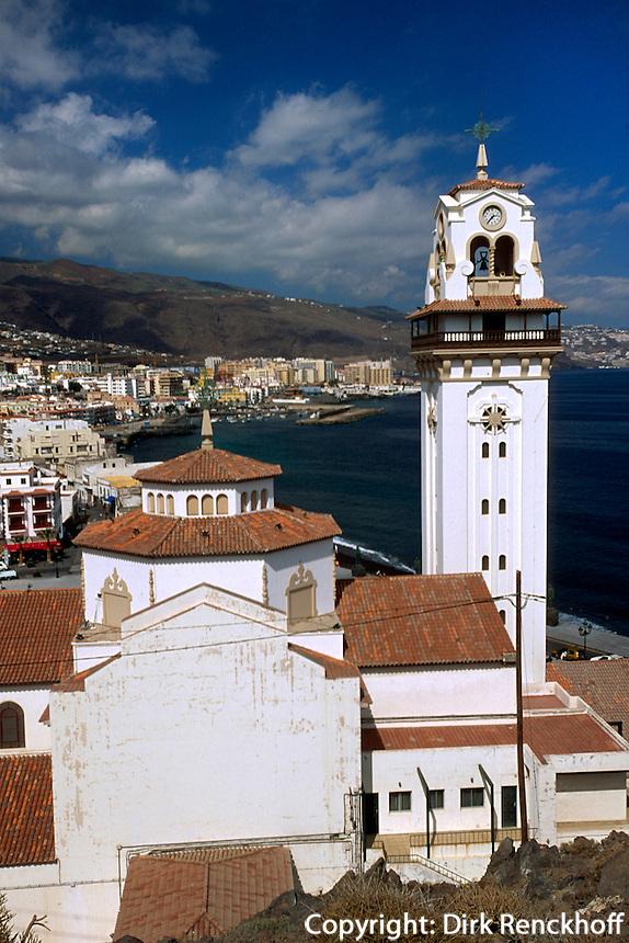 Spanien, Kanarische Inseln, Teneriffa, Candelaria, Basilika N.S. de la Candelaria