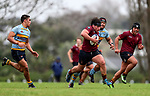 Action during the 1st XV Rugby match between Kings College and Mount Albert Grammar, Mt Albert Grammar School, Auckland, New Zealand. Saturday 1 July 2017. Photo: Simon Watts/www.bwmedia.co.nz for Kings College
