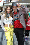 """Recording artist dancer Diana Pombo Lady D after NYC Times Square performance.<br /> Diana also was featured  featured in Jennifer Lopez's """"Amor, Amor, Amor"""" music video, Super Bowl Commercials, Vidcon, Nickelodeon, and much more."""