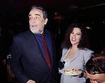 VITTORIO GASSMAN E STEFANIA SANDRELLI<br /> FESTA PER DEBUTTO TEATRALE AL PALLADIUM 1993