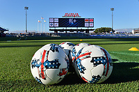 San Jose, CA - Wednesday June 28, 2017: Balls prior to a U.S. Open Cup Round of 16 match between the San Jose Earthquakes and the Seattle Sounders FC at Avaya Stadium.