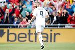 Real Madrid's celebrates goal during La Liga match. April 16,2016. (ALTERPHOTOS/Acero)