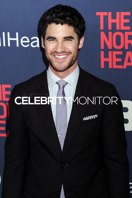 """NEW YORK CITY, NY, USA - MAY 12: Darren Criss at the New York Screening Of HBO's """"The Normal Heart"""" held at the Ziegfeld Theater on May 12, 2014 in New York City, New York, United States. (Photo by Celebrity Monitor)"""