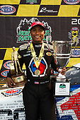 NHRA Mello Yello Drag Racing Series<br /> NHRA Northwest Nationals<br /> Pacific Raceway, Kent WA USA<br /> Sunday 6 August 2017<br /> Antron Brown, Matco Tools, Top Fuel Dragster, Winner, Trophy, Celebration<br /> <br /> World Copyright: Jason Zindroski<br /> HighRev Photography