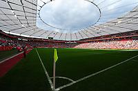 Fifa Women's World Cup Germany 2011 :  England - France - at Leverkusen : BayArena Leverkusen pitch / Veld.foto DAVID CATRY / Vrouwenteam.be