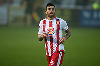 Romain Vincelot of Stevenage during Stevenage vs Hull City, Emirates FA Cup Football at the Lamex Stadium on 29th November 2020