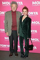 """NELSON MONFORT, VICTORIA MONFORT (SA FILLE) - AVANT-PREMIERE DU FILM """"MOI, TONYA"""" A L'UGC NORMANDIE A PARIS, FRANCE, LE 15/01/2018."""