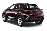 Car pictures of rear three quarter view of 2020 Nissan Juke 5 Door SUV Angular Rear