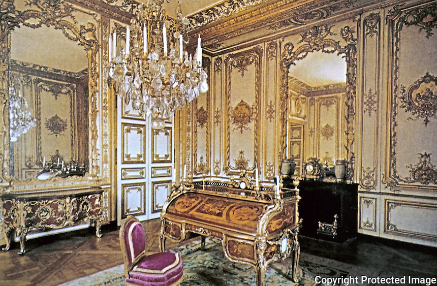 Palace of Versailles--Study of Louis XV.