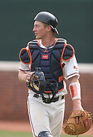Beau Seabury of the Virginia Cavaliers vs. the Miami Hurricanes:  March 24th, 2007 at Davenport Field in Charlottesville, VA.  Photo By Mike Janes/Four Seam Images