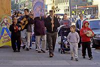 San Francisco, California - Religious Procession, Mission District.