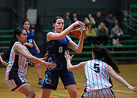 Action from the 2019 Schick AA Girls' Secondary Schools Basketball Premiership National Championship match between Christchurch Girls' High School and Tauranga Girls' High School at the Central Energy Trust Arena in Palmerston North, New Zealand on Monday, 30 September 2019. Photo: Dave Lintott / lintottphoto.co.nz