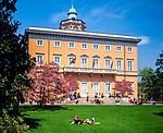 Schweiz, Tessin, Lugano: Villa Ciani (Museum) im Stadtpark (Parco Ciani) | Switzerland, Ticino, Lugano: Villa Ciani (Museum) at Parco Ciani