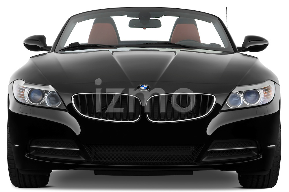 Straight front view of a 2009 BMW Z4 3.0i