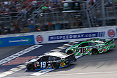 #19: Martin Truex Jr., Joe Gibbs Racing, Toyota Camry Auto-Owners Insurance/Martin Truex Jr. 500th Start #18: Kyle Busch, Joe Gibbs Racing, Toyota Camry Interstate Batteries