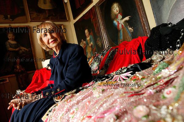 Milano 05/04/2004, Sivia Bernasconi, © Fulvia Farassino