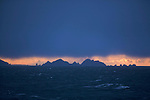 Cap Horn dans la Mer de Drake.Mythical Cape Horn and the surrounding islands in the Drake Sea