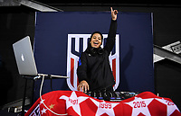 COLUMBUS, OH - NOVEMBER 07: DJ during a game between Sweden and USWNT at MAPFRE Stadium on November 07, 2019 in Columbus, Ohio.