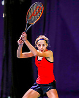 Hilversum, Netherlands, December 3, 2017, Winter Youth Circuit Masters, 12,14,and 16 years, Florentine Dekkers (NED)<br /> Photo: Tennisimages/Henk Koster