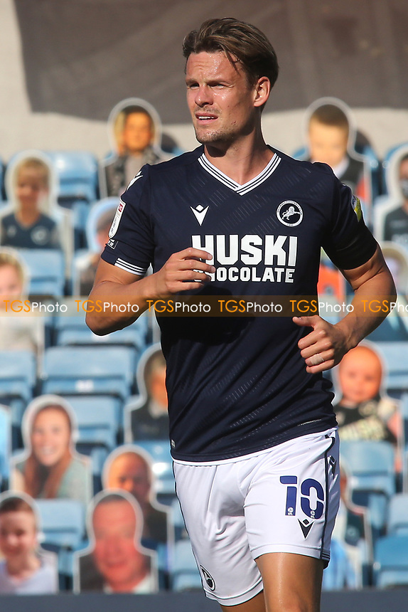Matt Smith of Millwall during Millwall vs Stoke City, Sky Bet EFL Championship Football at The Den on 12th September 2020