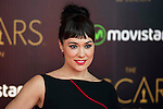 Eva Marciel attends to the photocall before the cocktail of the night of the Oscar of Movistar+ at Gran Teatro Principe Pio in Madrid. February 28, 2016. (ALTERPHOTOS/BorjaB.Hojas)